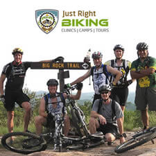 JustRightBiking.com is your home for biking trips, tours and clinics.